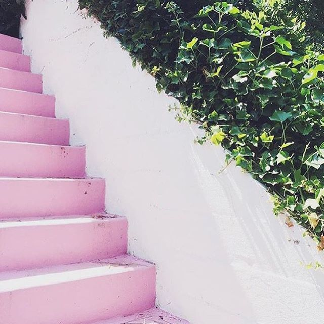 Who doesnt love a pink staircase?!  amberlancaster007nbspRead more