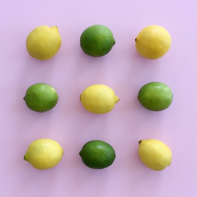 Lemons and limes on joyfetti.com