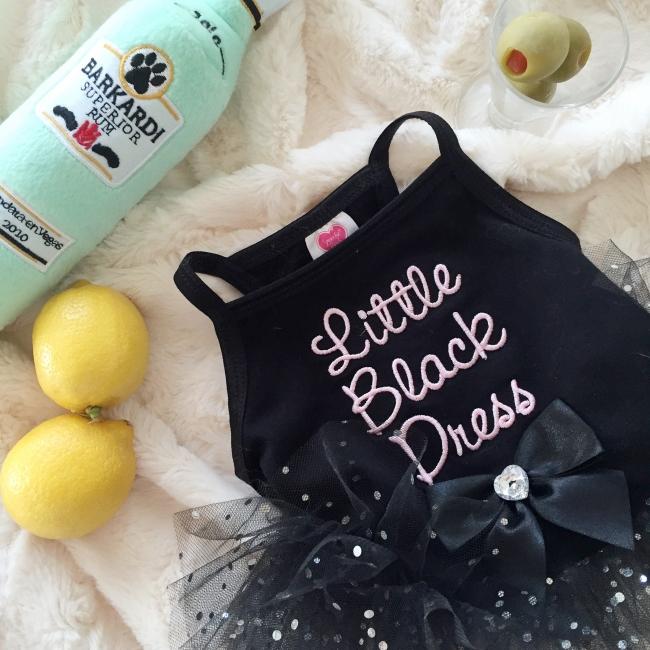 Minty's Little Black Dress on mintymondays.com