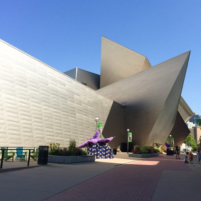 Denver Art Museum on joyfetti.com #JOYFETTI