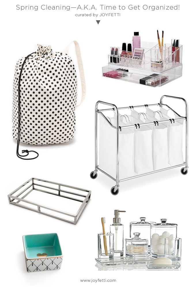 Spring Cleaning_AKA Time to Get Organized_cute and practical items to stay organized_joyfetti.com
