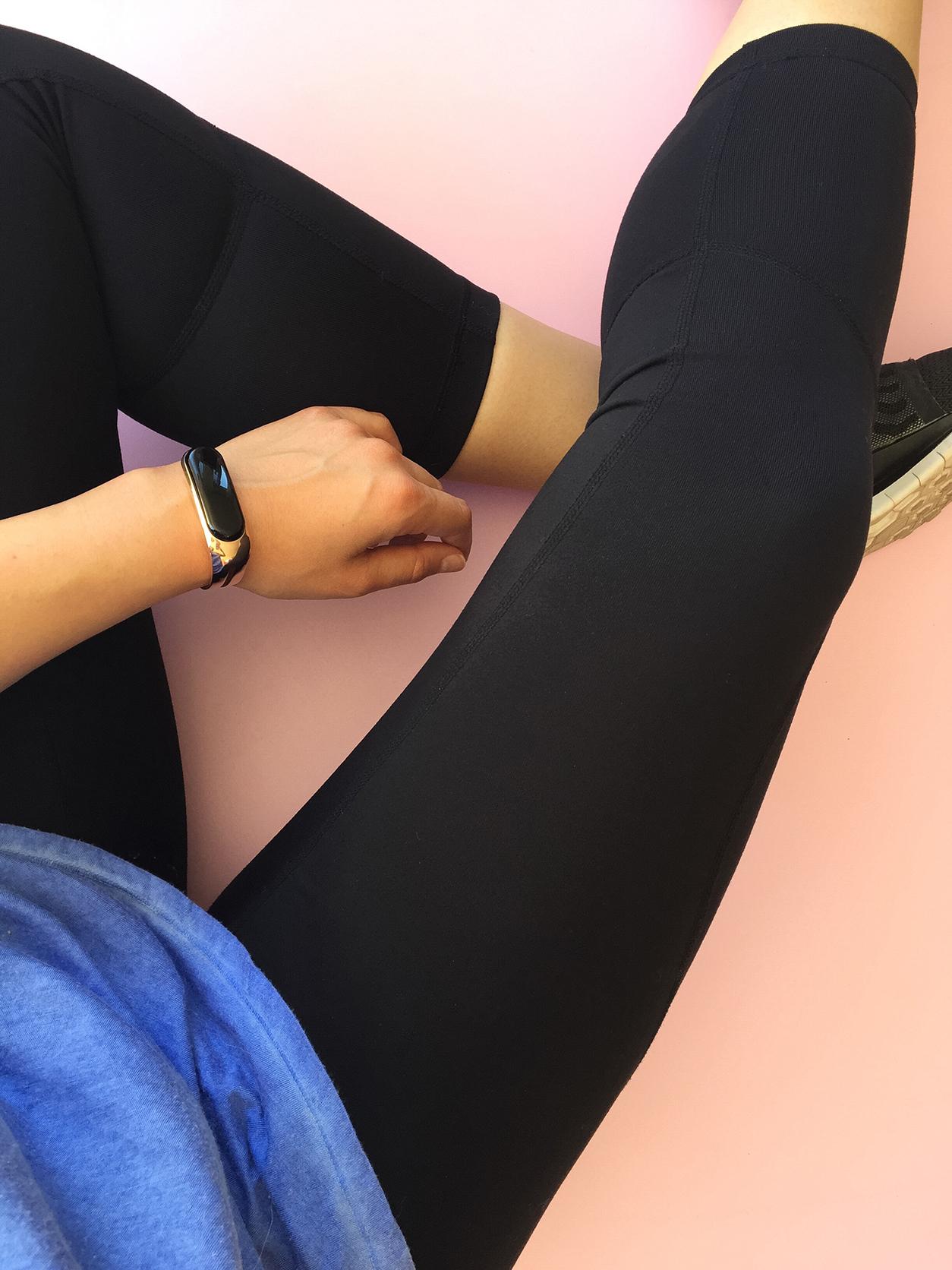 Mira bracelet, Zella live-in leggings_joyfetti.com