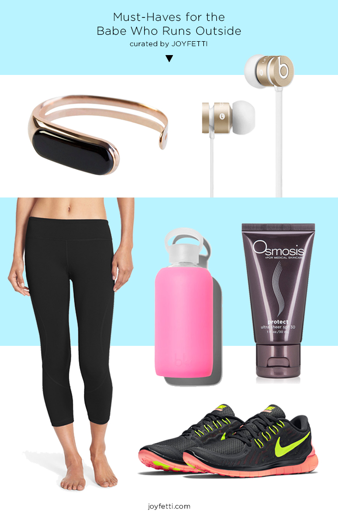 Must-Haves for the Babe Who Runs Outside_joyfetti.com